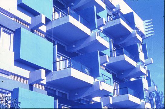 Prometheus Building Balcony